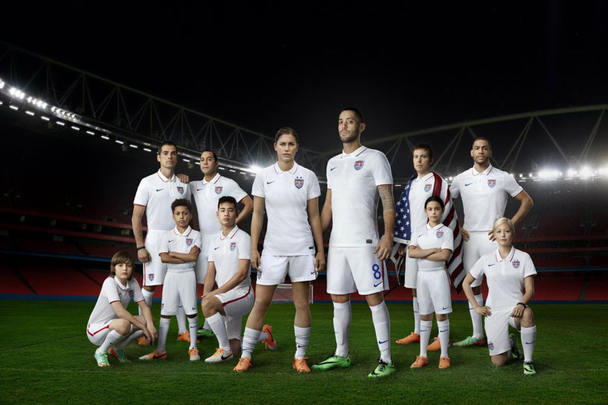 a98aaa754 The 2014 United States World Cup home jersey is... lacking identity ...