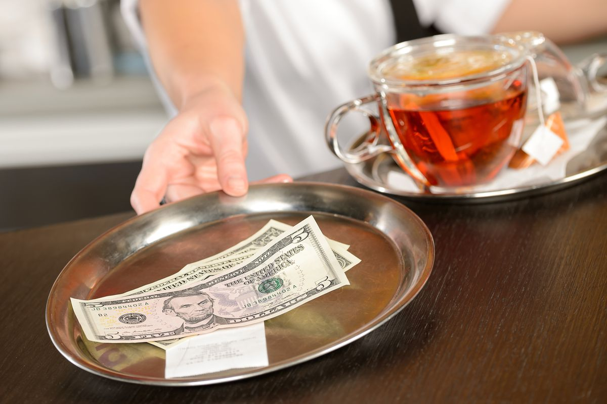 Restaurant Owners And Managers Cannot Keep Servers Tips Per New