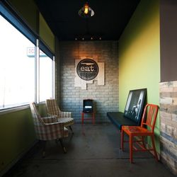 The waiting area at Eat.