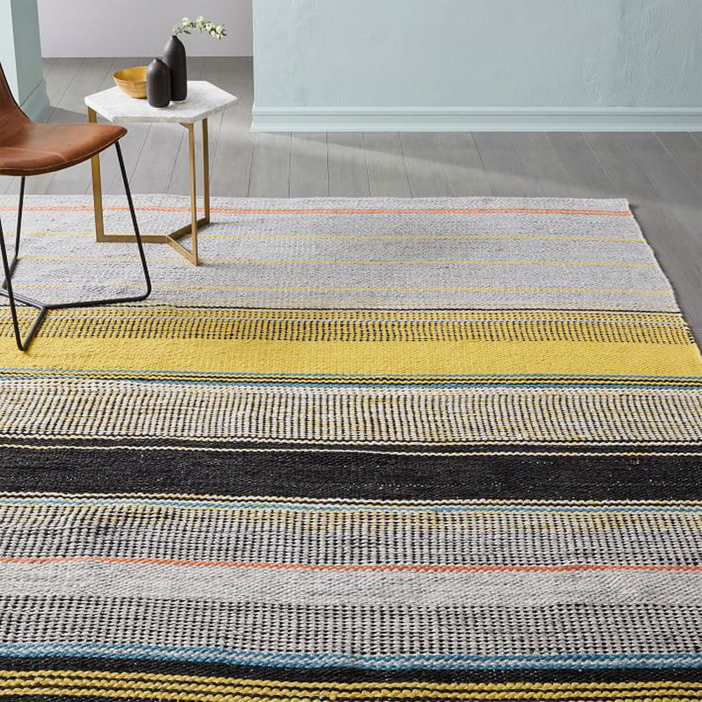 Ombre pop indoor outdoor rug