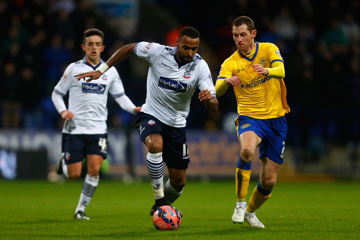 Enter the Trotter: the midfielder makes his first start for Bolton since... a long time ago