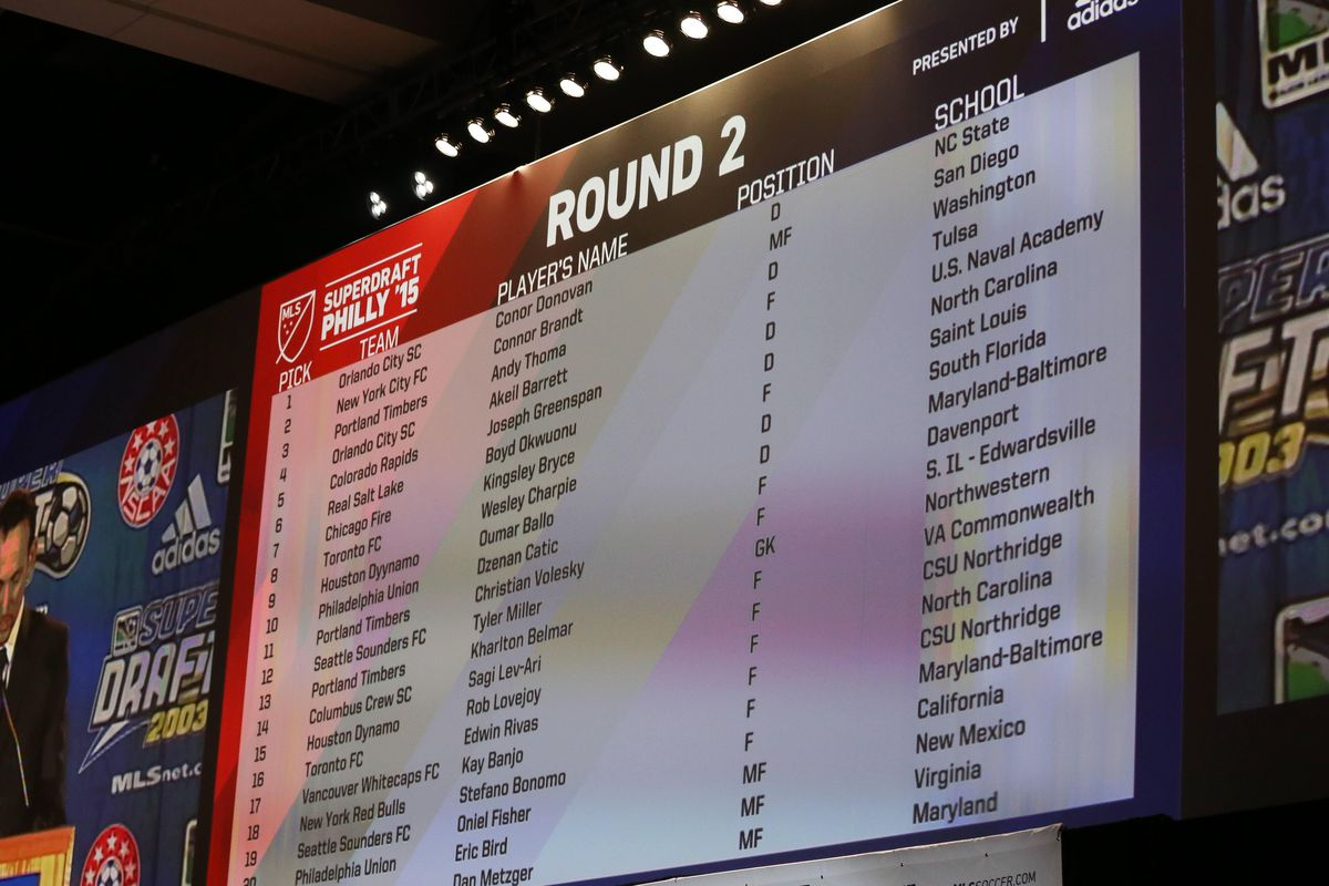 The second round, in which Bonomo was selected.