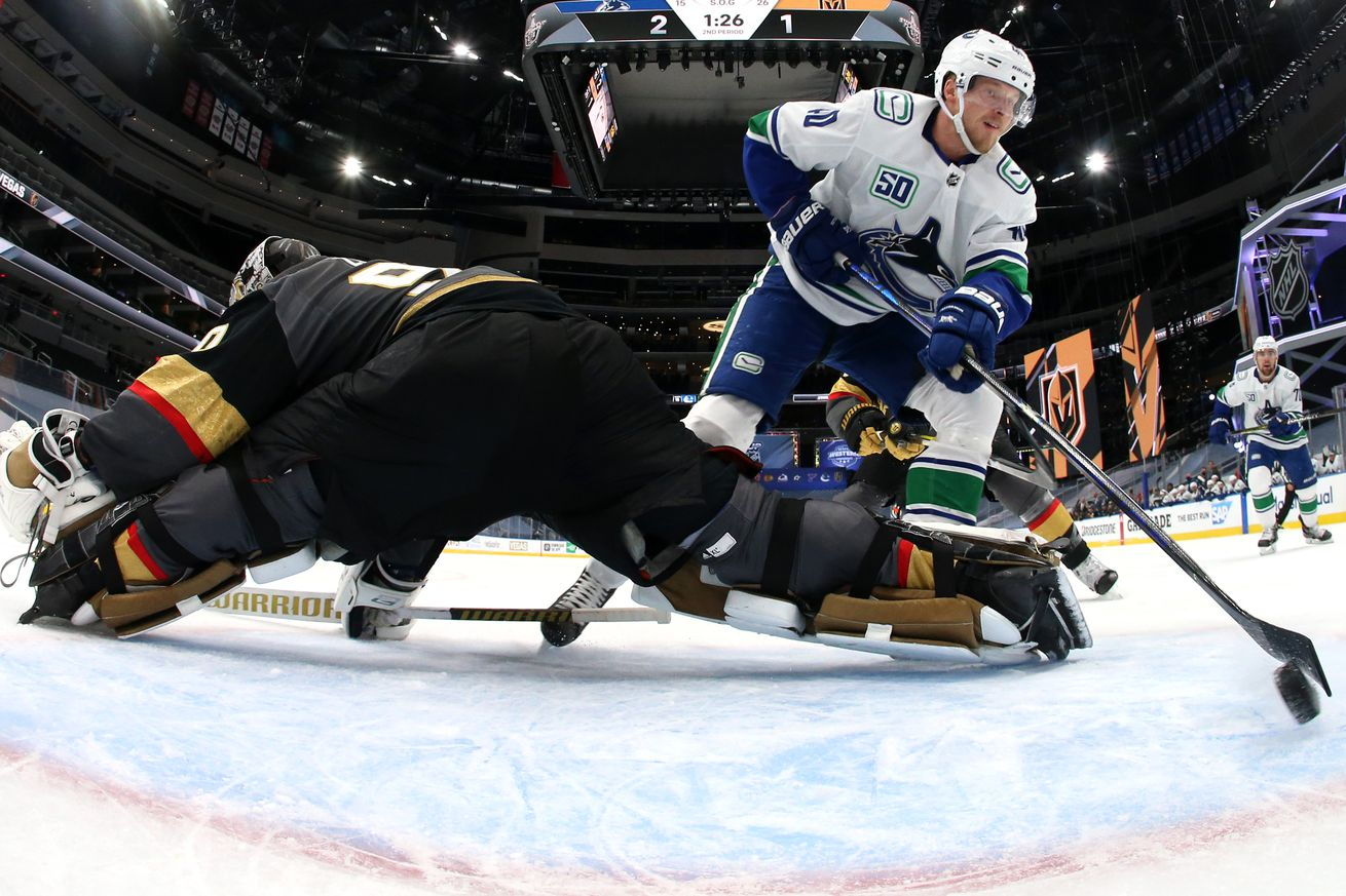 Vancouver Canucks v Vegas Golden Knights - Game Two