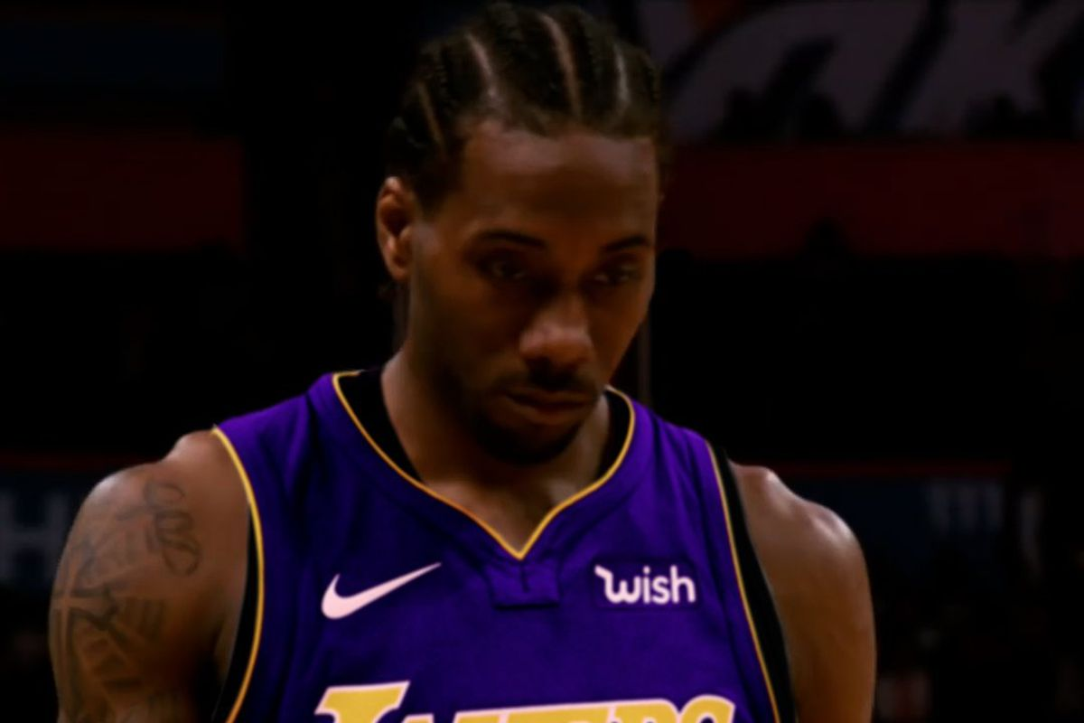 sneakers for cheap e885f 076c9 Lakers Video: Get hyped for a potential LeBron James, Kawhi ...