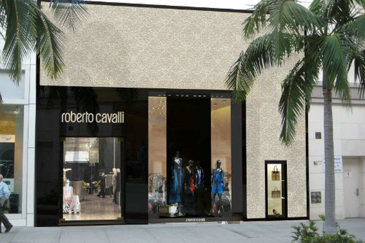 Rendering via Roberto Cavalli