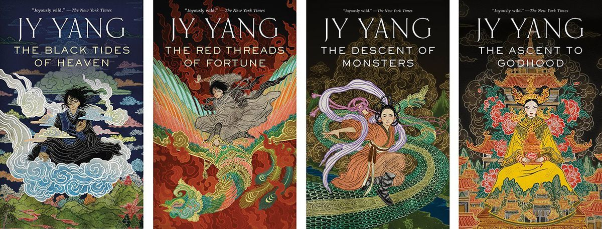 Jy Yang S Tensorate Series Is A Sweeping Experimental Blend Of Sci Fi And Fantasy The Verge