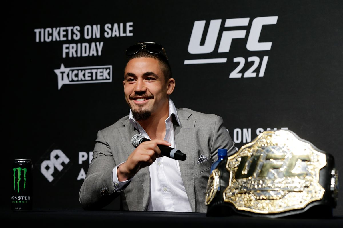 Midnight Mania! Robert Whittaker wants to fight Adesanya on the same card as Khabib vs. Poirier