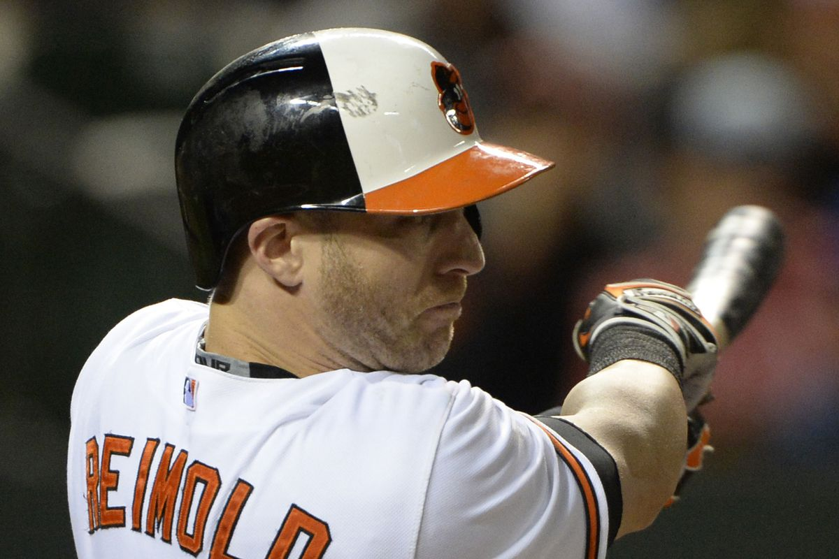 Nolan Reimold had quite an offensive outburst from the leadoff spot