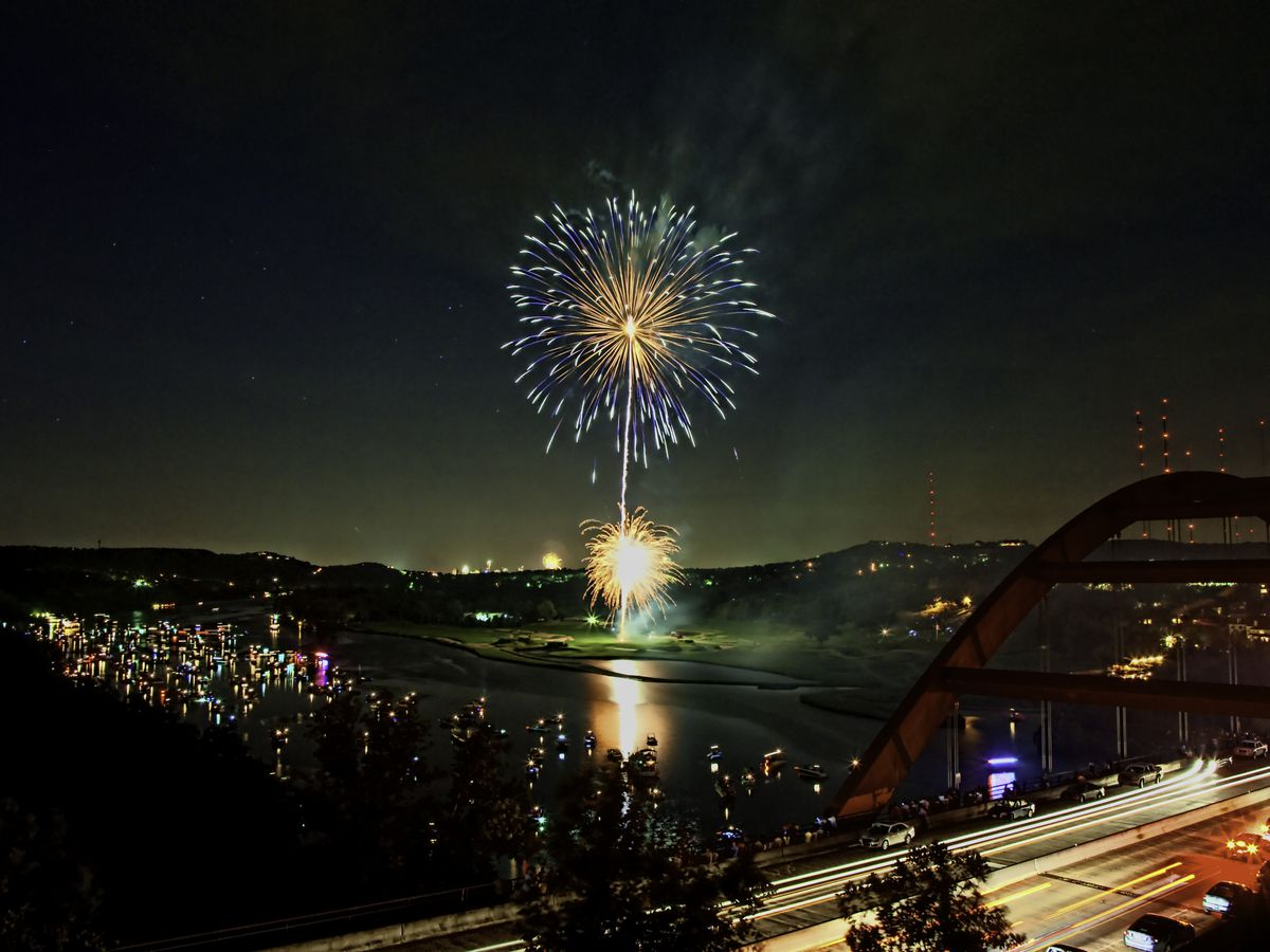 Best places to watch Austin's 4th of July fireworks 2019