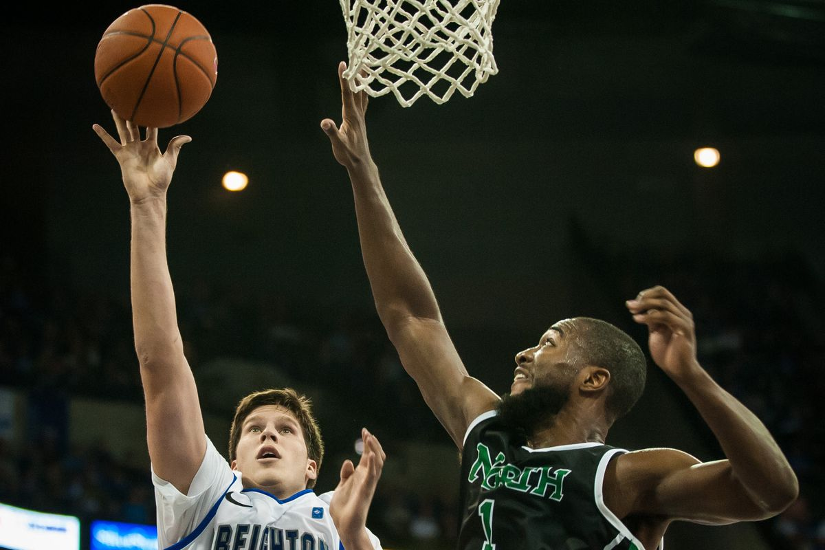 Jacob Holmen is UNT's best hope for improvement from outside - and it isn't a strong hope.