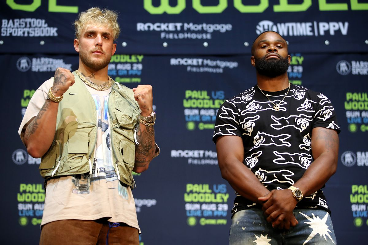 BOXING NEws: Mike Tyson considers Tyron Woodley a bad drummer and predicts a victory for Jake Paul