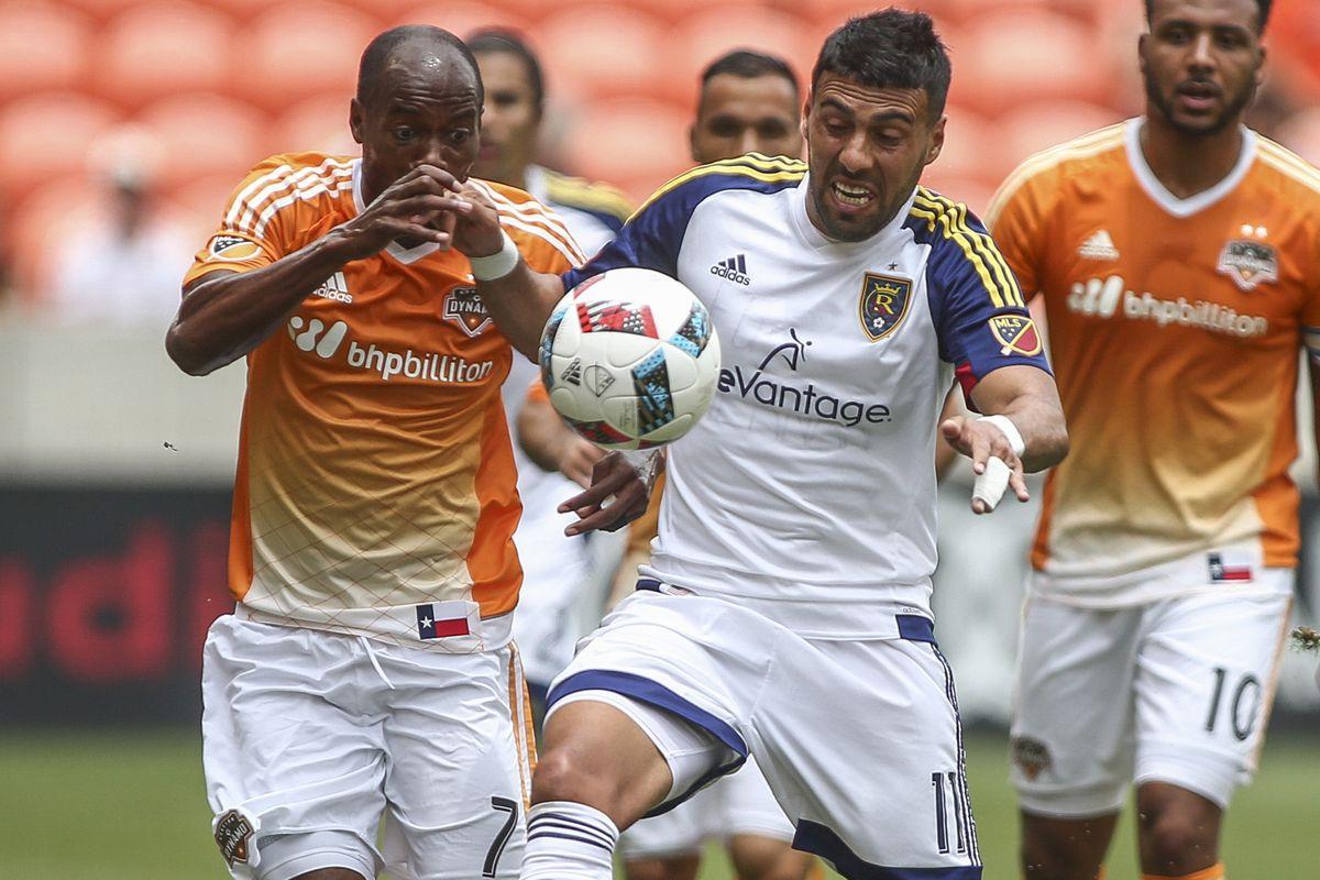 MLS: Real Salt Lake at Houston Dynamo