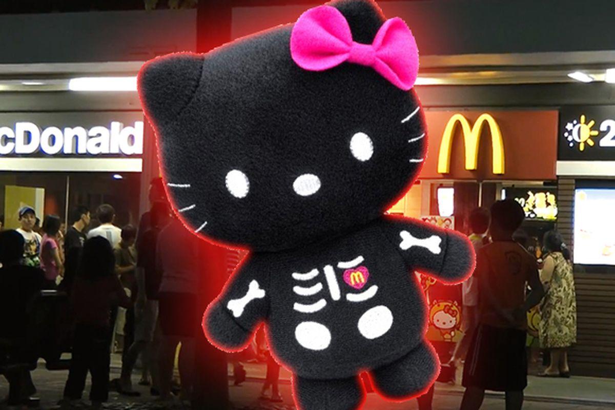 Hello Kitty Mcdonald S Toys : Hello kitty sticker dispenser mcdonald s hello kitty toy