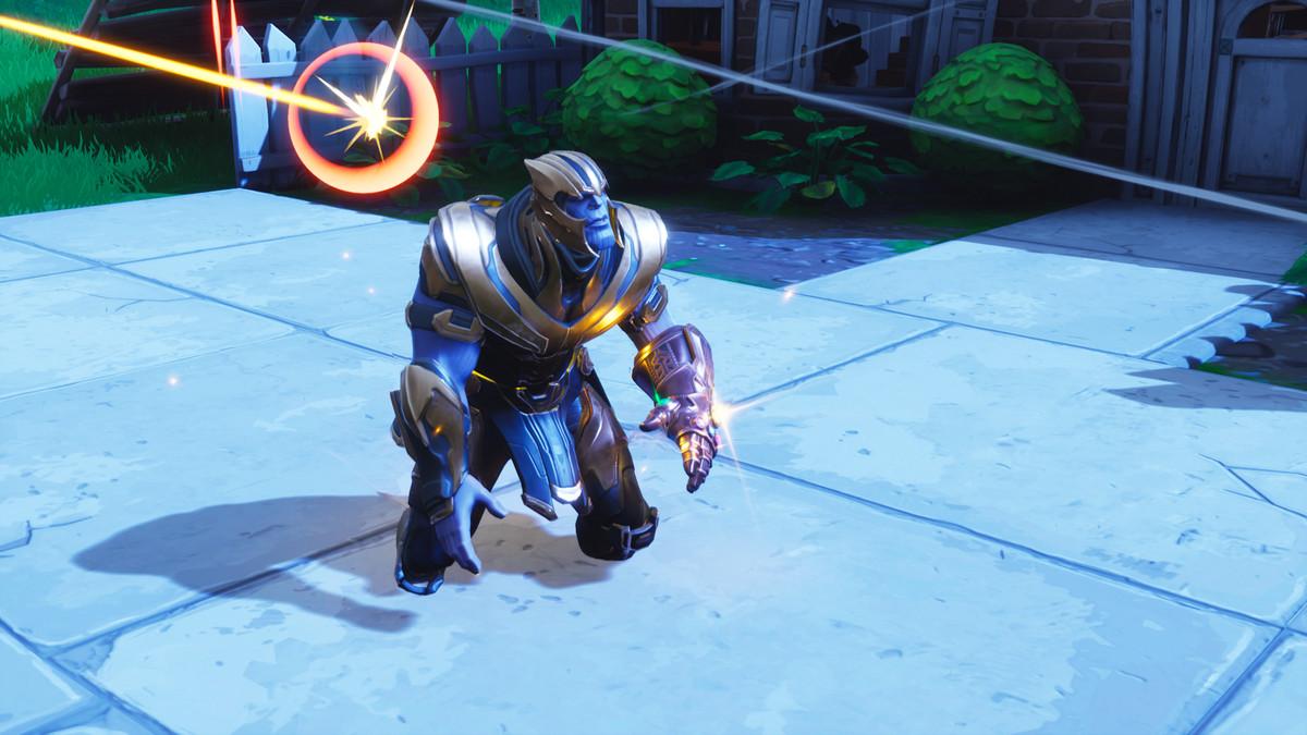 Fortnite S Avengers Infinity War Mashup Hands On Gauntlet Hunting