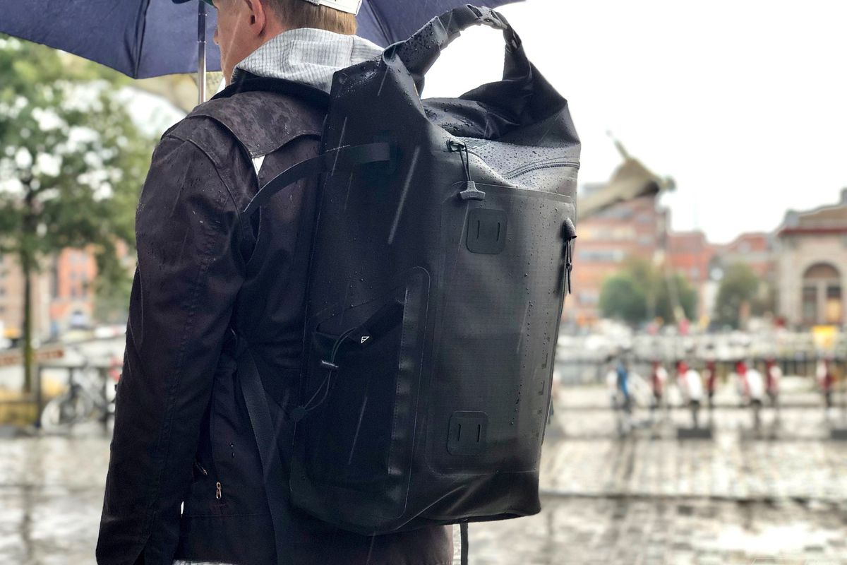 63bd991ad The world s most versatile waterproof backpack  review - The Verge