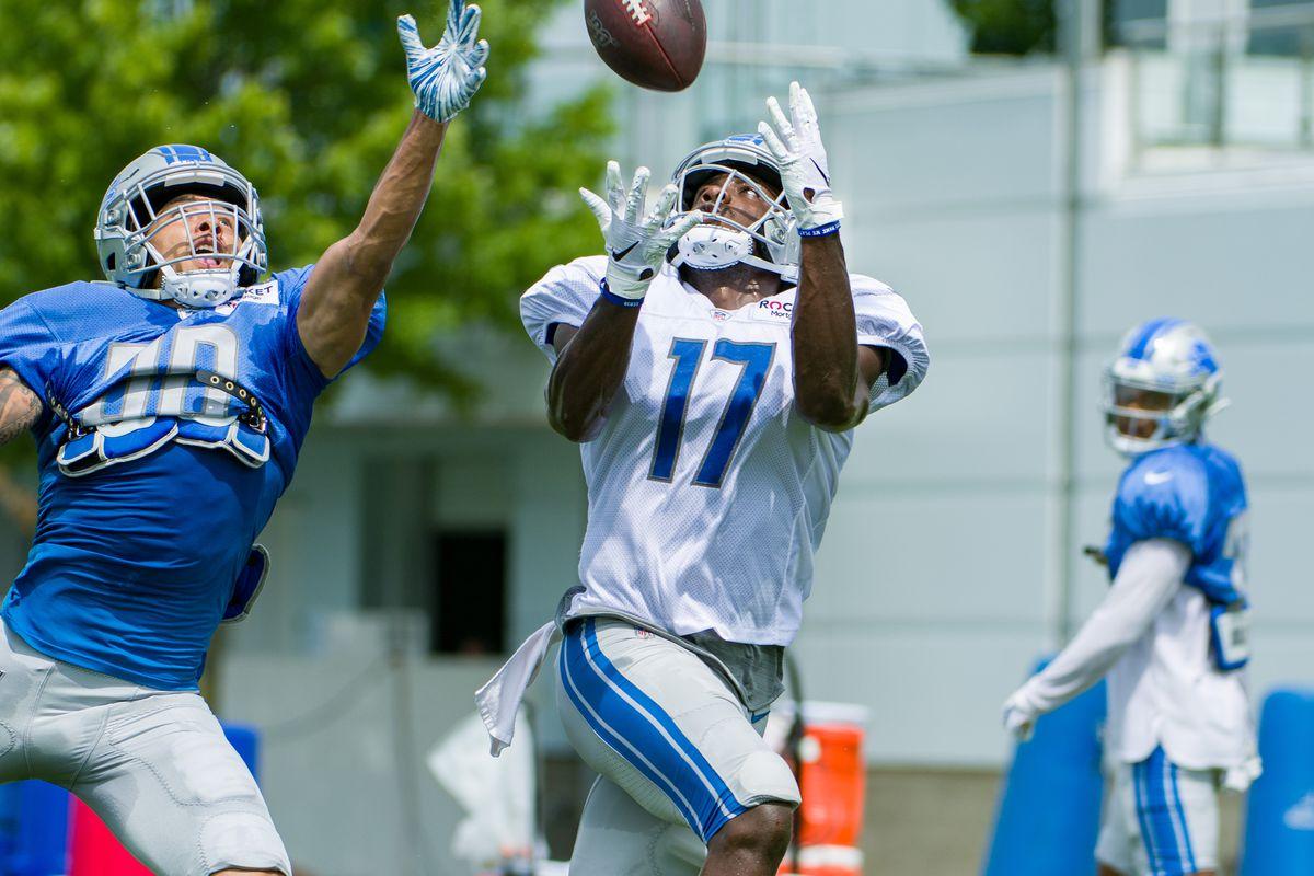 NFL: AUG 20 Detroit Lions Training Camp