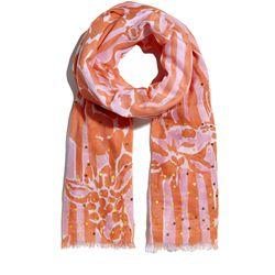 'Giraffeeey' sequin scarf, $20