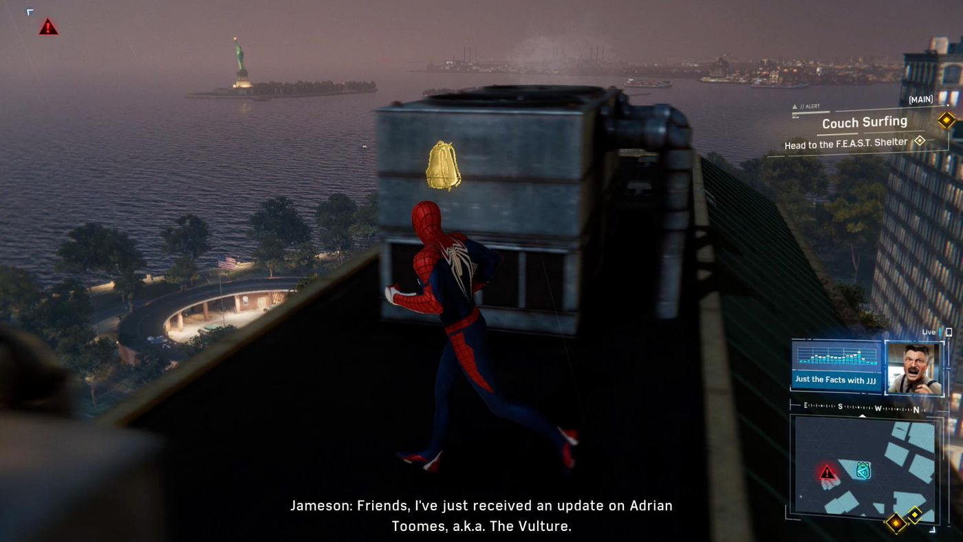 Spider-Man PS4 backpack guide - Polygon