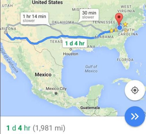 1,981 Miles to a date with destiny! [http://www.foxcarolina.com/story/30876813/clemson-fans-note-another-coincidence-as-tigers-head-to-national-championship]