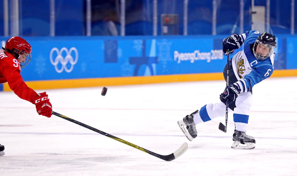 Olympics: Ice Hockey-Women Team Bronze medal match - FIN-OAR