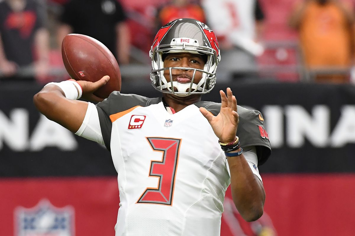 Jameis Winston injury QB leaves game vs Cardinals with hurt
