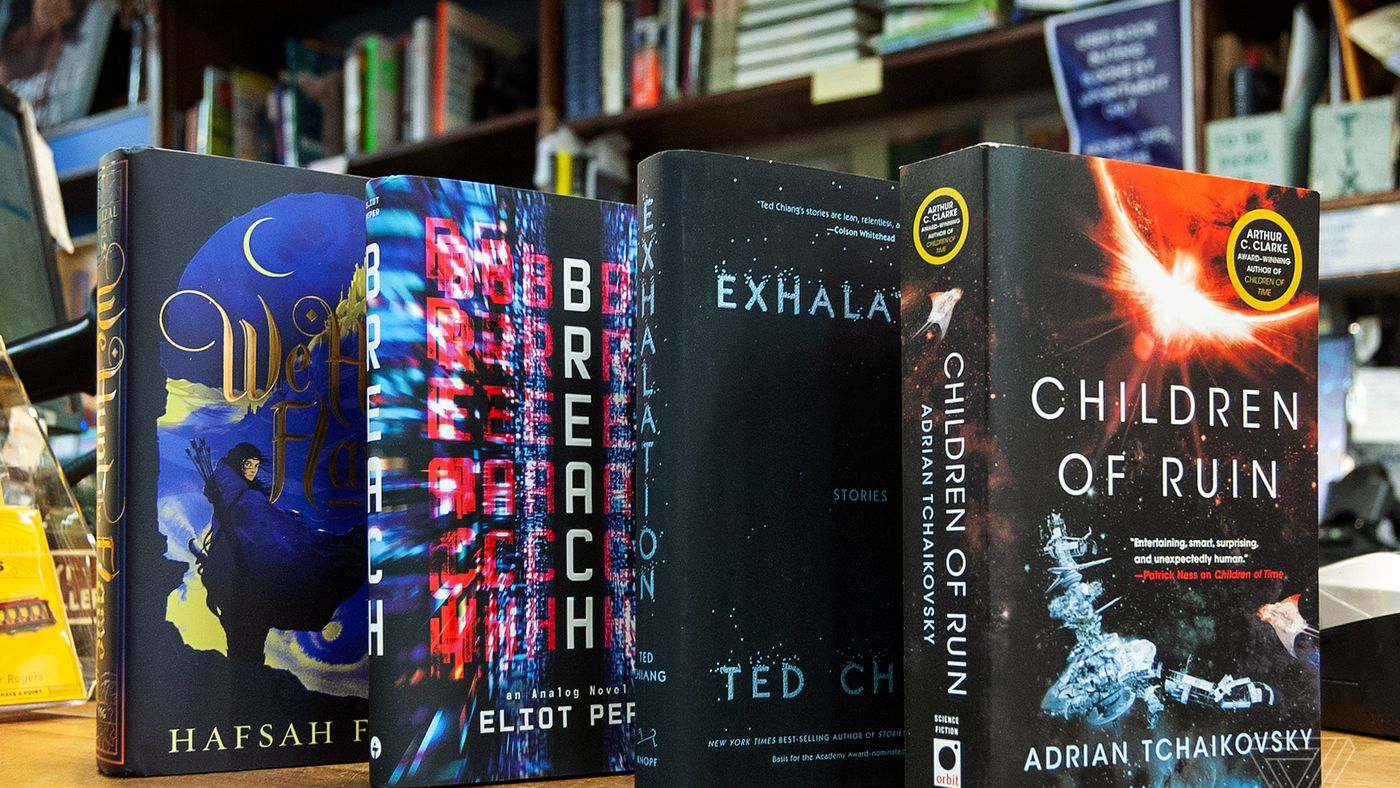 10 new science fiction and fantasy books to check out in May - The Verge