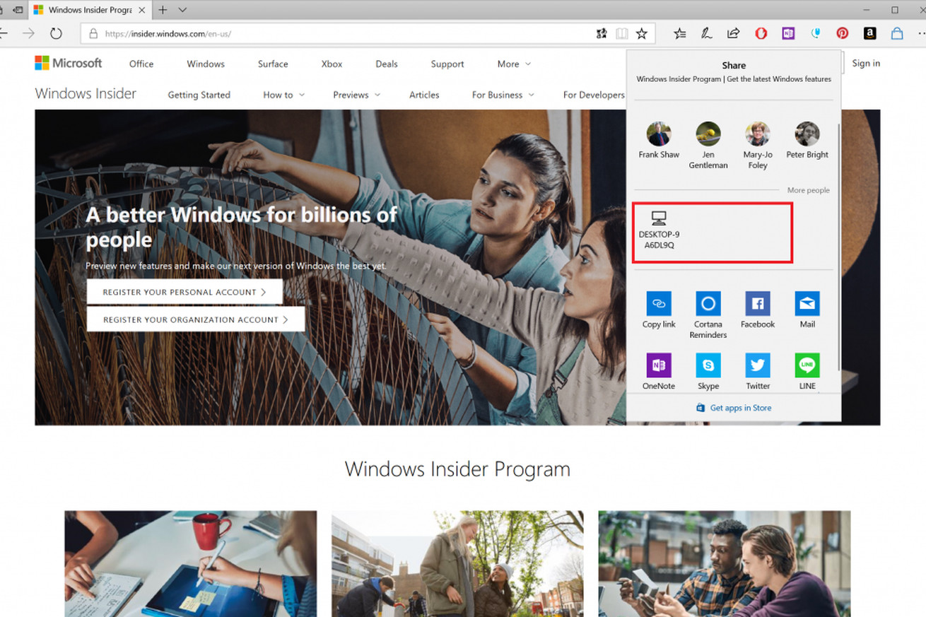 windows 10 s version of airdrop lets you quickly share files between pcs