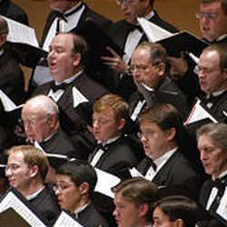 The Utah Choral Artists will perform on Temple Square May 19, 2006.