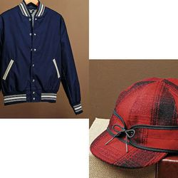 """From <strong>The National Museum of American History:</strong> <a href=""""http://www.smithsonianstore.com/museum-stores/american-history/classic-athletic-jacket-28261.html#"""">Classic Athletic Jacket</a>; <a href=""""http://www.smithsonianstore.com/museum-stores"""