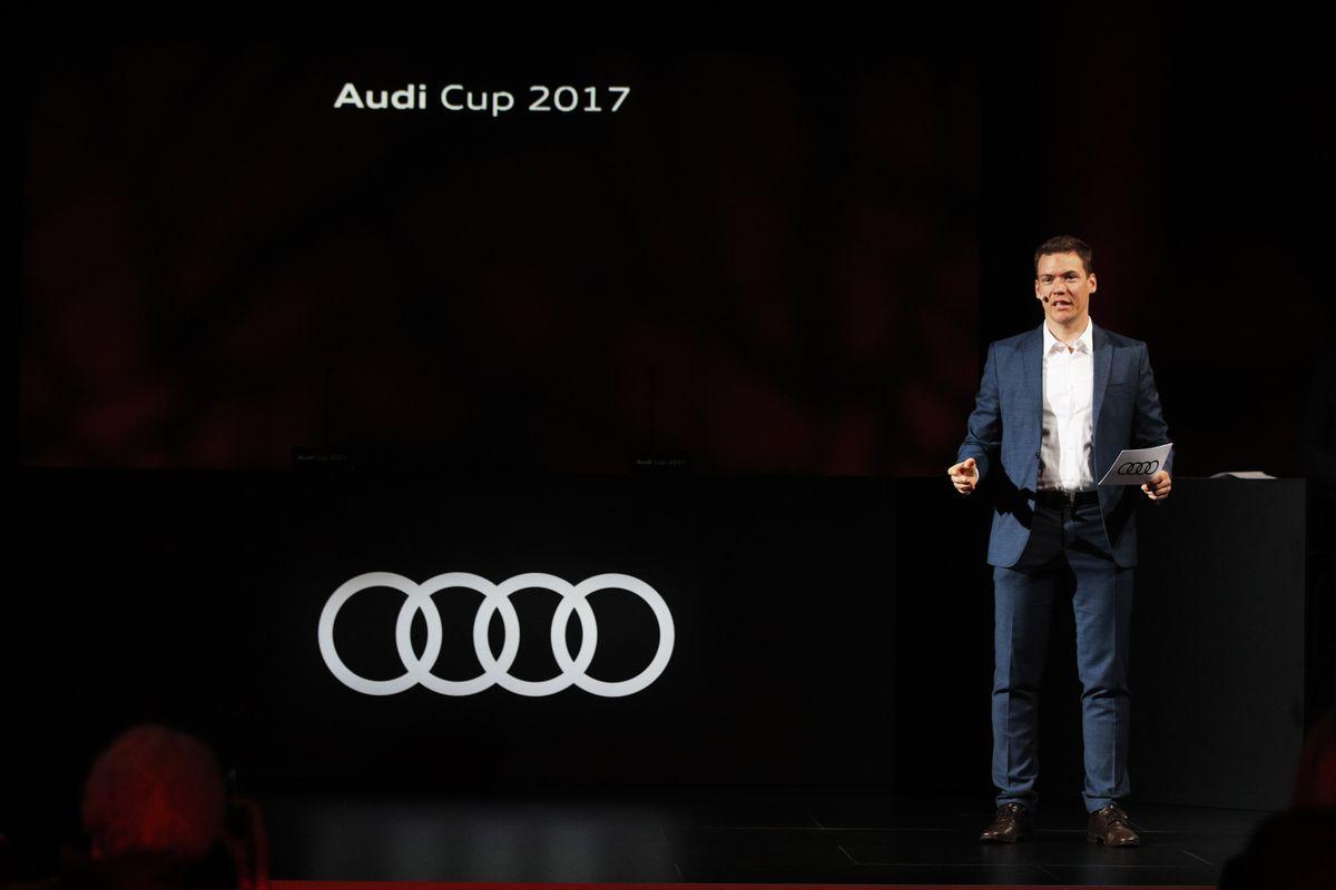 Audi Cup 2017 Hologram Press Conference