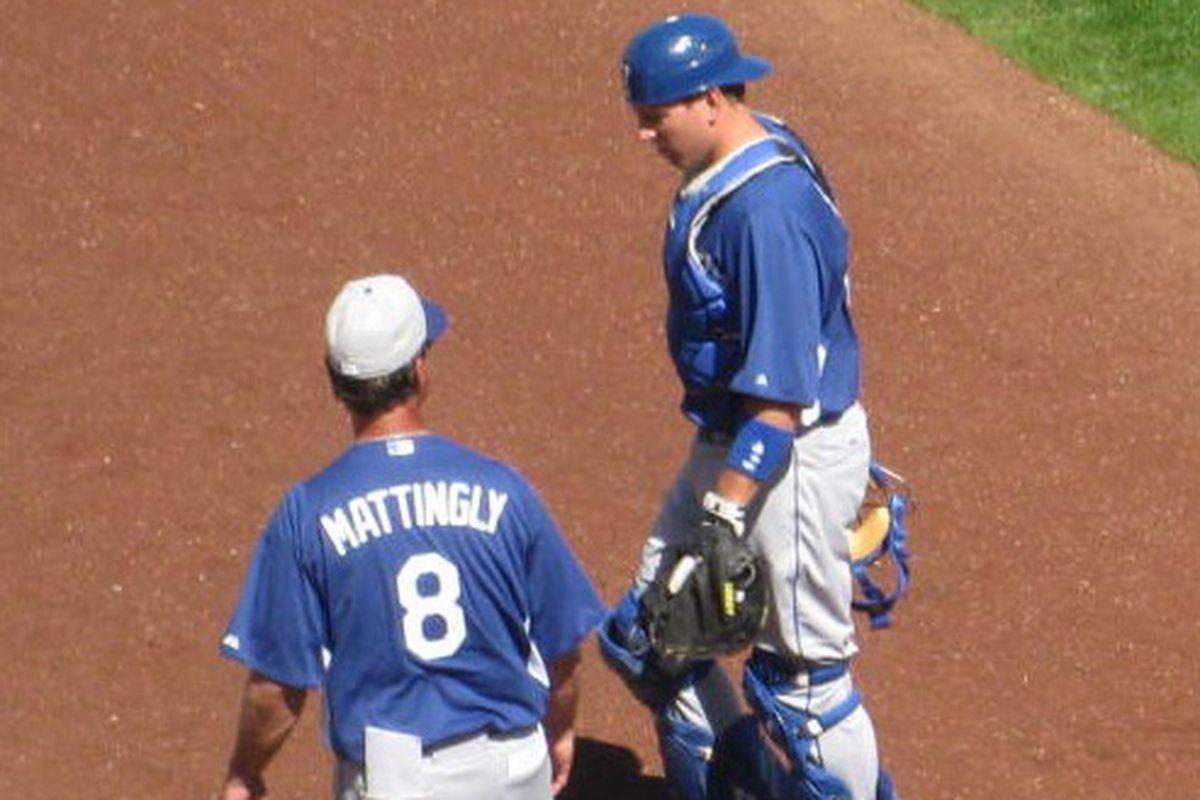 Don Mattingly got good reports from catcher A.J. Ellis about Hyun-jin Ryu on Monday.