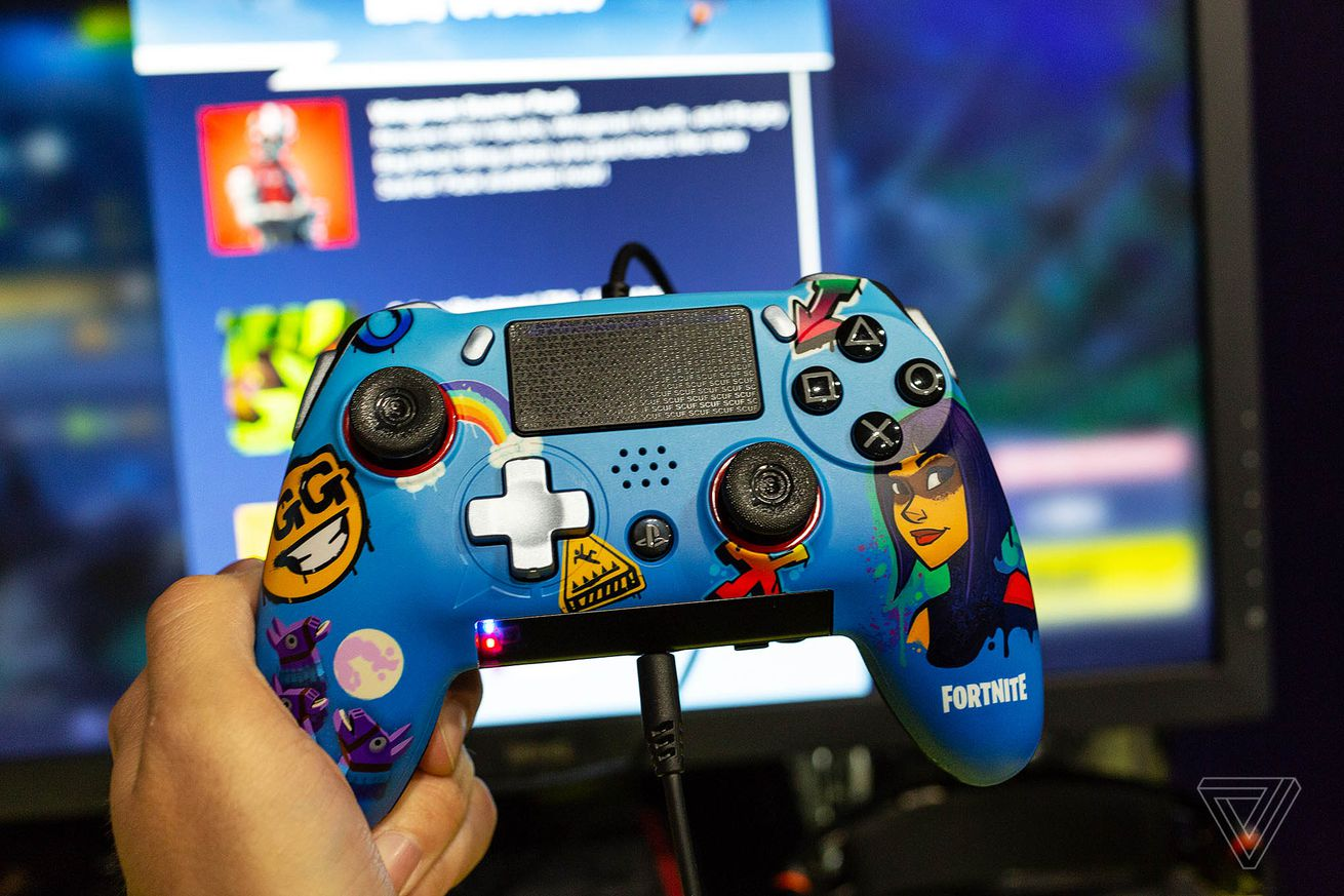 the scuf vantage is a fortnite player s dream ps4 controller