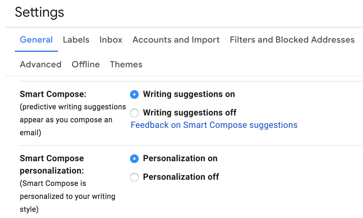 How to enable and use Gmail's Smart Reply and Smart Compose