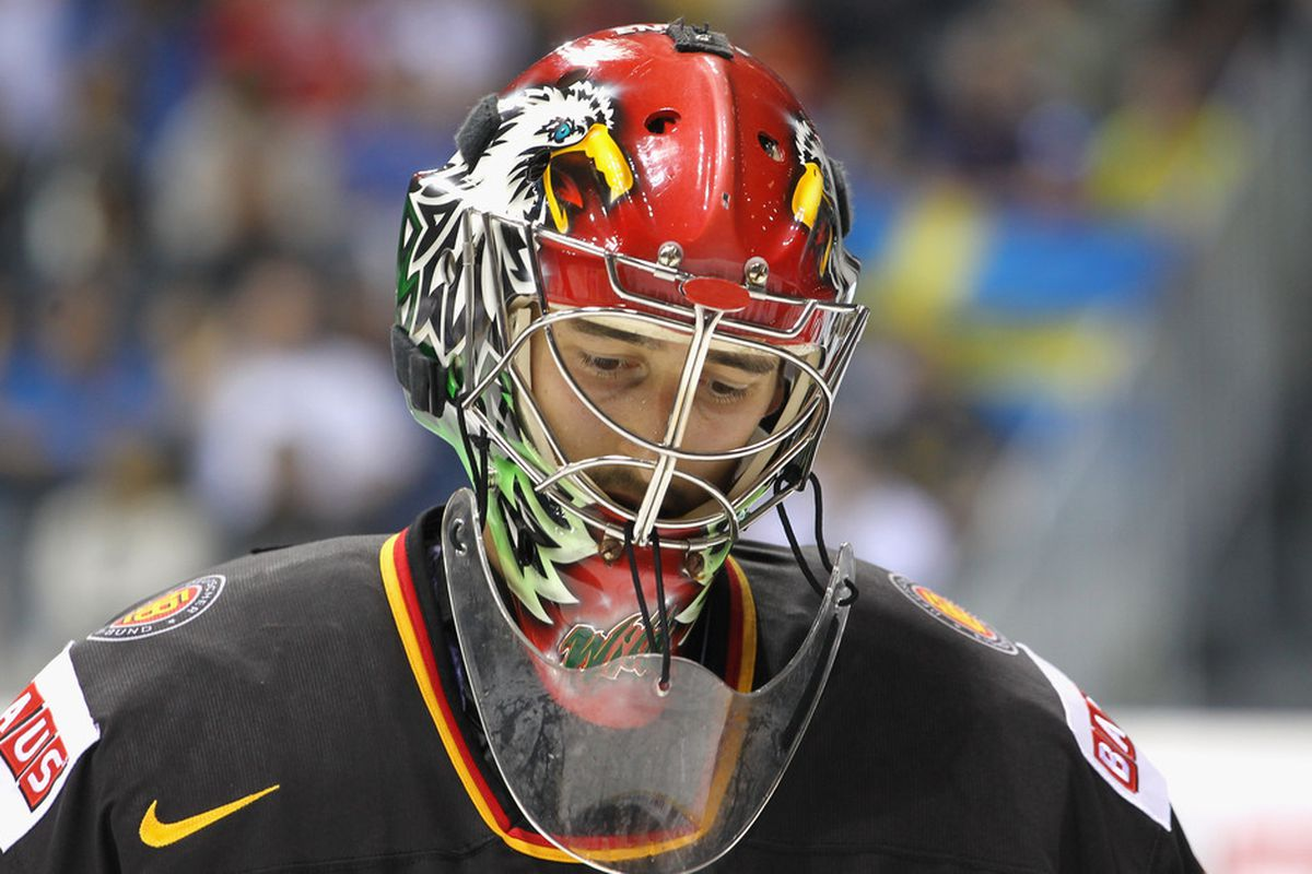 Sad goalie is sad? We'll have to wait to find out.