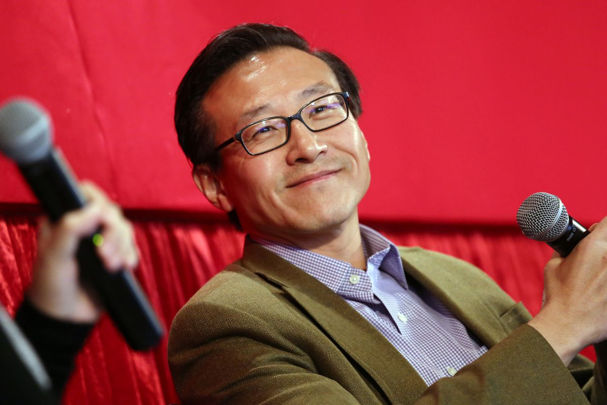 Alibaba Group Executive Vice-Chairman Joe Tsai at the SCMP Town Hall Meeting at Excelsior Hotel in Causeway Bay. 24MAR16 SCMP/Jonathan Wong
