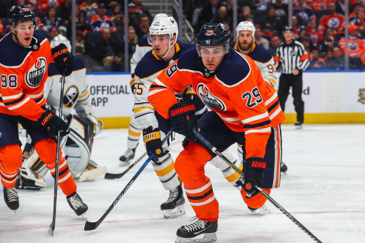 NHL: JAN 23 Sabres at Oilers