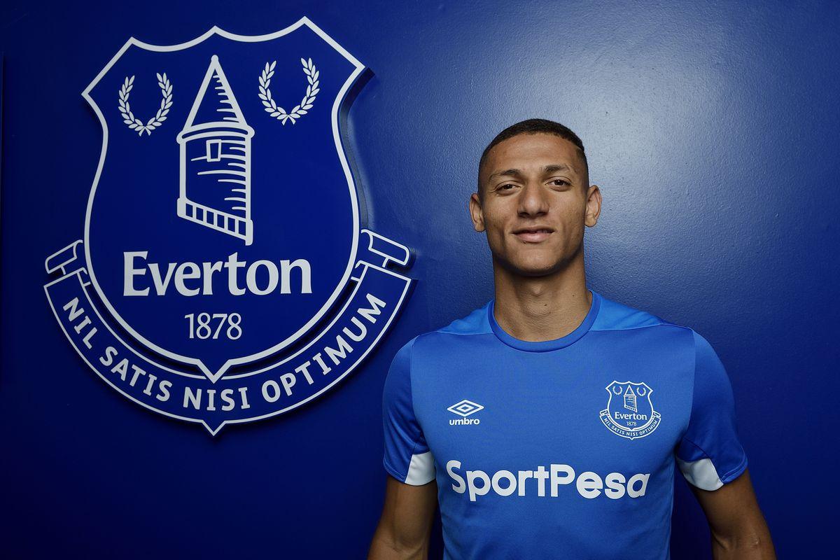 Everton Unveil New Signing Richarlison