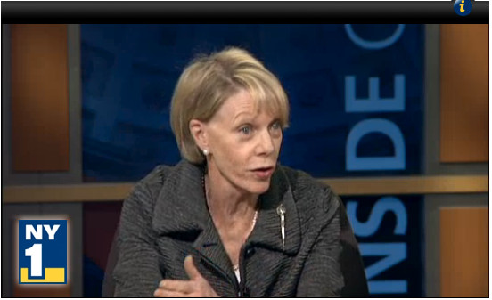 Chancellor Cathie Black showed what she has learned and what she hasn't in her first month on the job on NY1 last night.