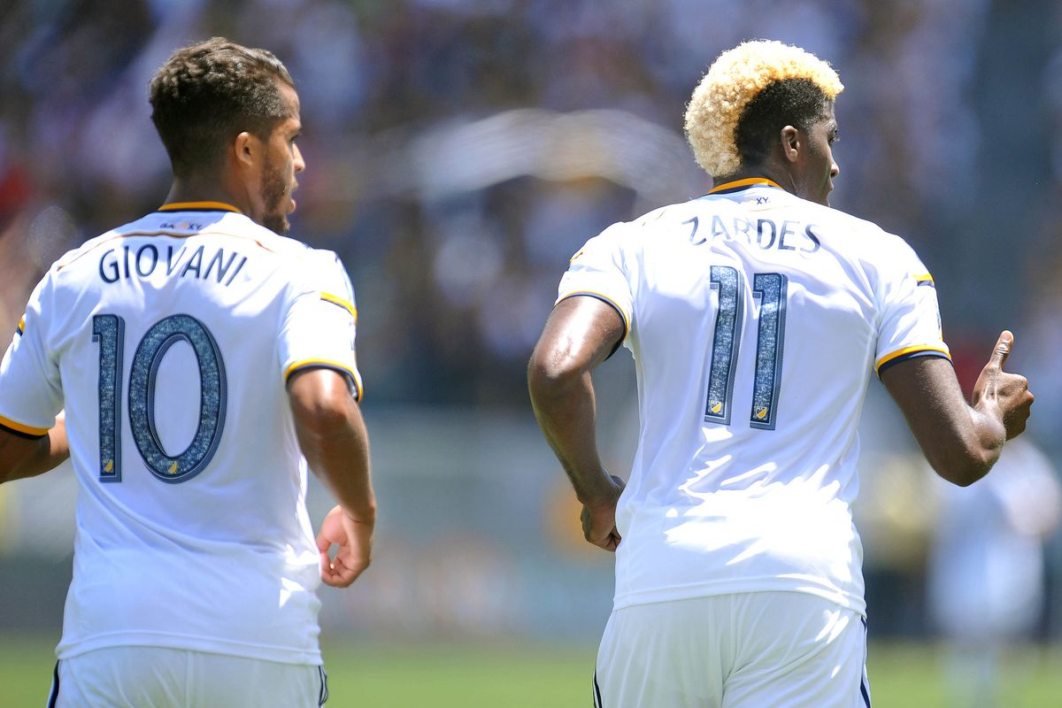 Giovani dos Santos and Gyasi Zardes are part of the most dangerous attack in MLS.