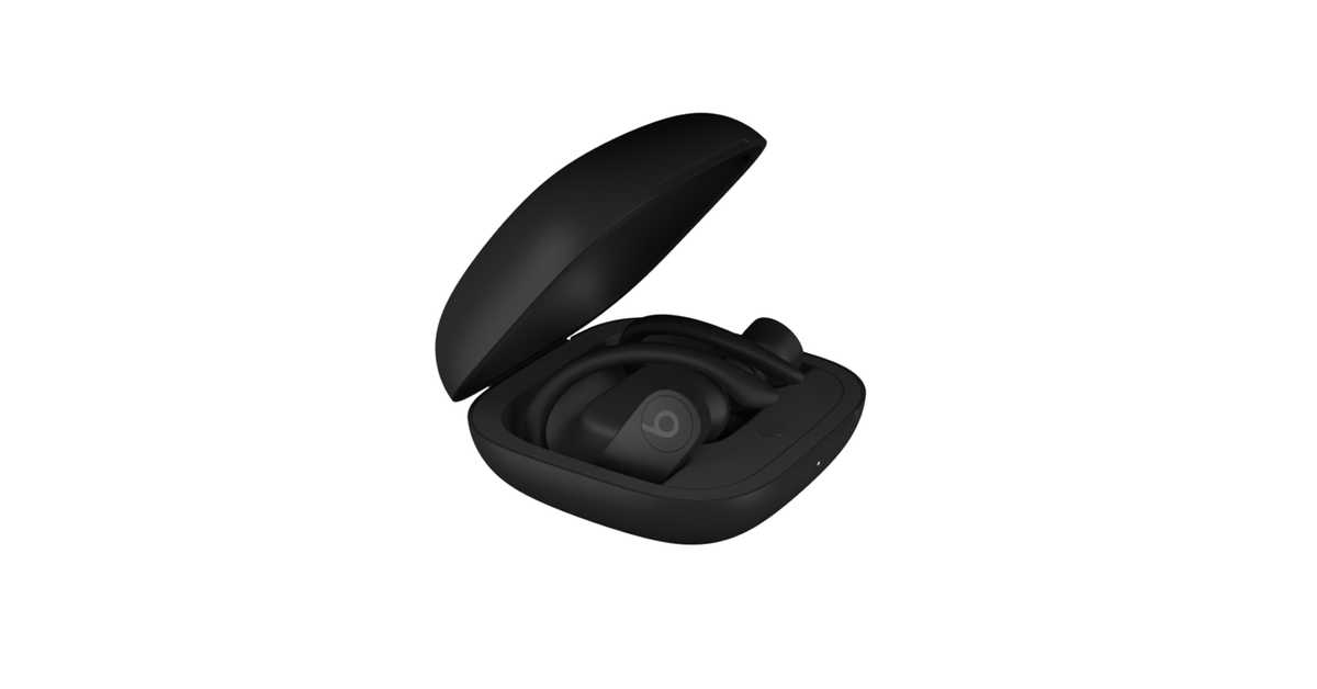 First pictures of Apple's truly wireless Powerbeats Pro leak - The Verge