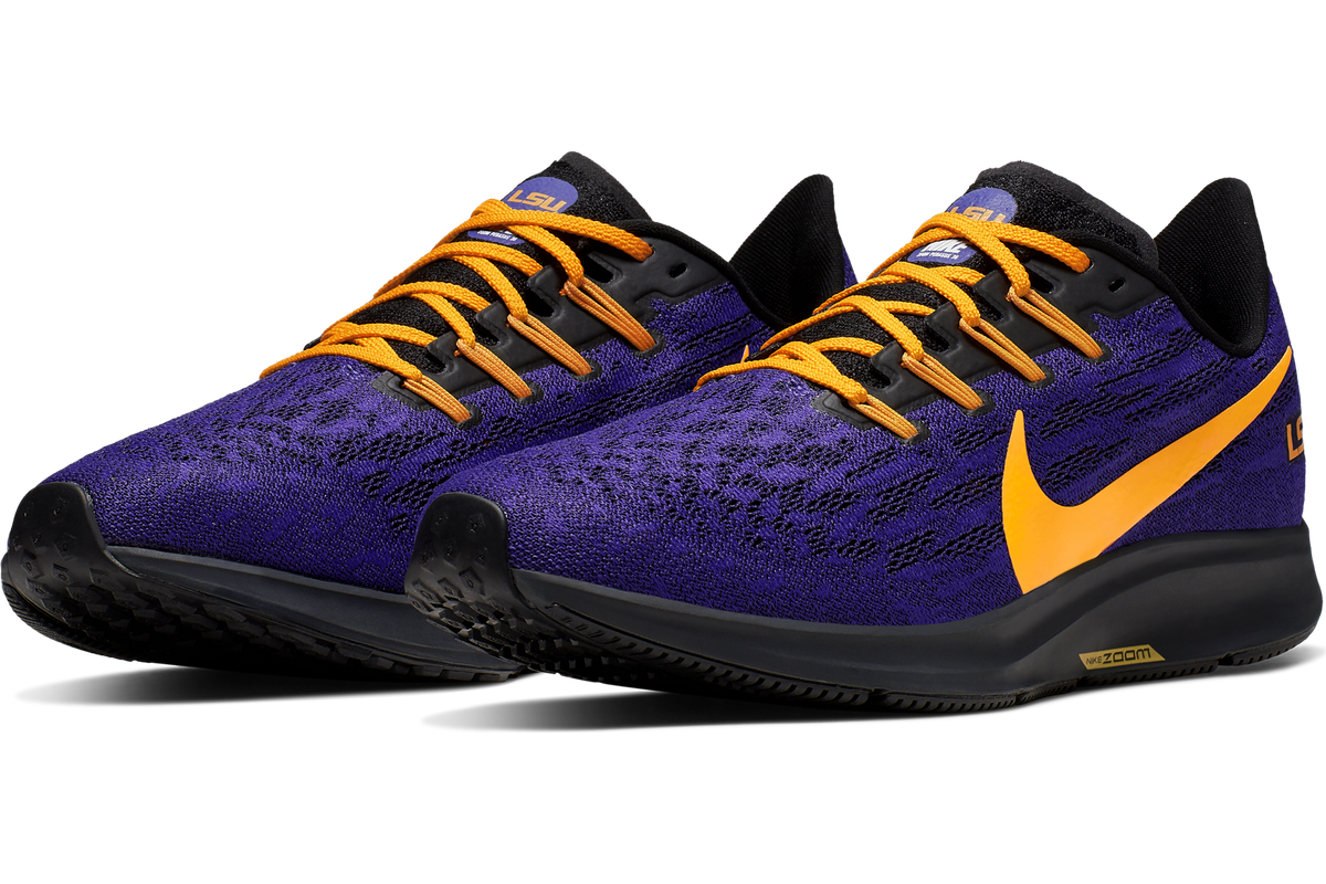 quality design 640b7 73e98 Nike drops the new Air Zoom Pegasus 36 LSU shoe collection ...