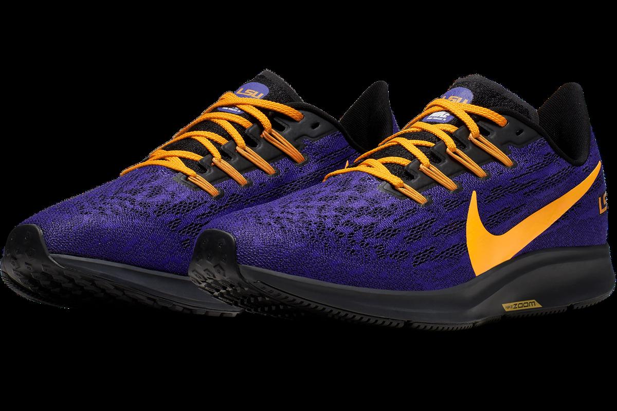 bajo precio estilo exquisito siempre popular Nike drops the new Air Zoom Pegasus 36 LSU shoe collection ...