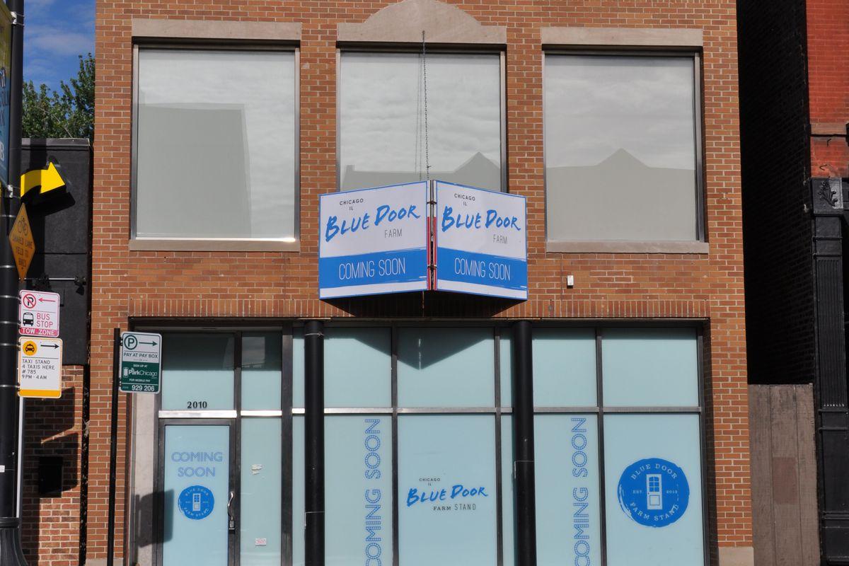 Blue Door Farm Stand's new spot