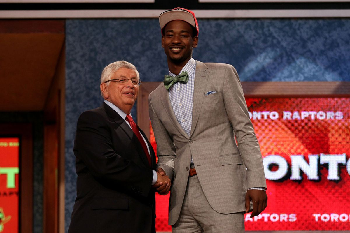 """Ross will likely be a solid pick for the Raptors.  However is """"solid"""" the best they could do?"""