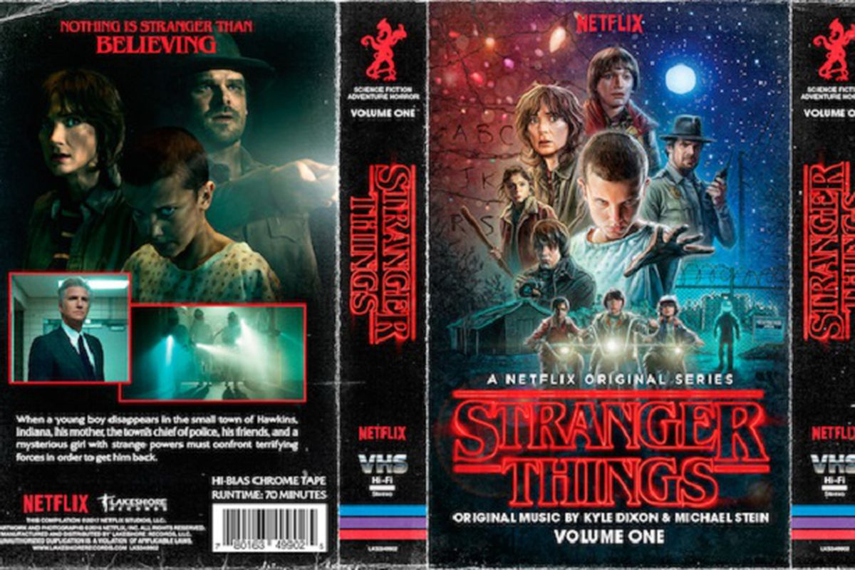 stranger things u2019 soundtrack is getting a retro cassette
