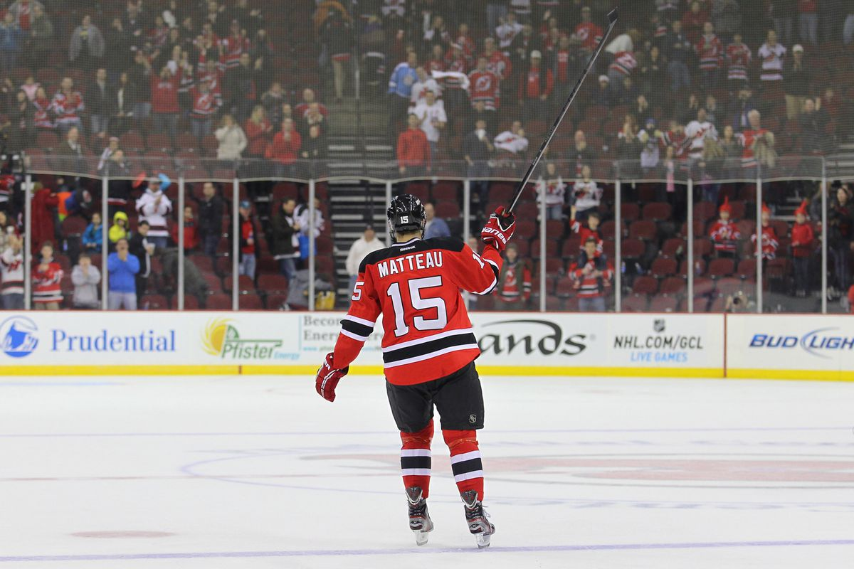 Stefan Matteau is the only one in this group of five that A) played more than one NHL game and B) scored a NHL goal in 2012-13.