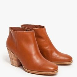 """Rachel Comey """"Mars"""" booties in whiskey/natural, <a href=""""http://shop.creaturesofcomfort.us/rachelcomeymars-whiskeynatural.aspx"""">$161.20</a> (were $403) at Creatures of Comfort"""