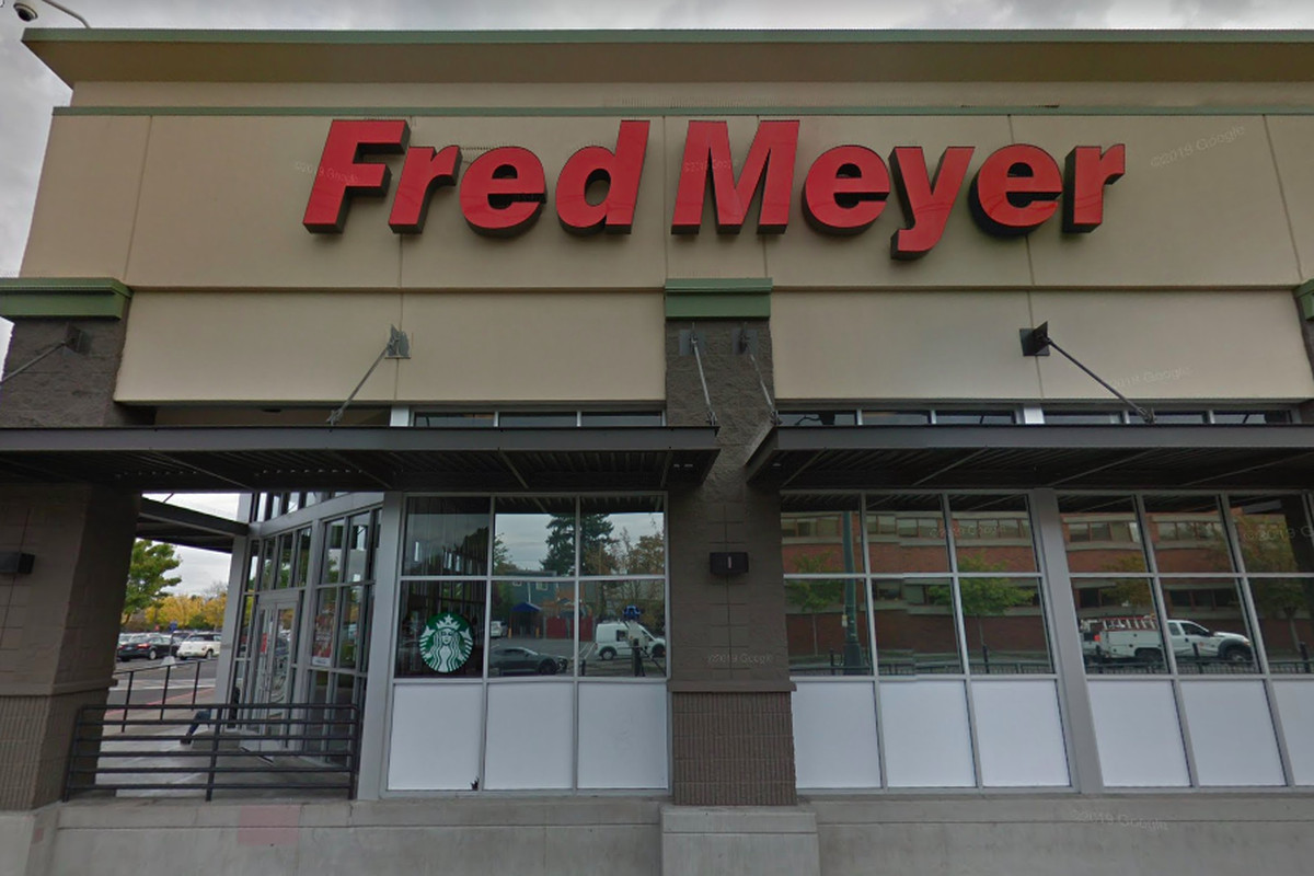 An image of the exterior of a Fred Meyer on Interstate Avenue