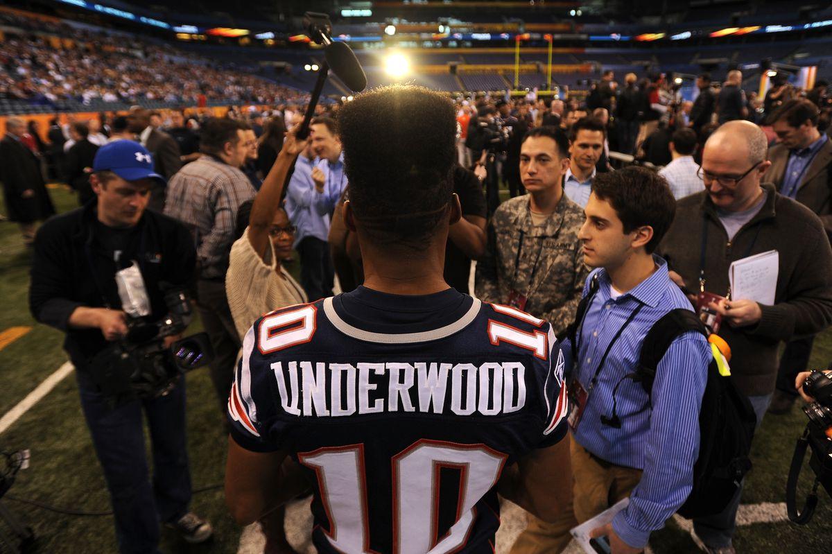 Super Bowl XLVI - Media Day