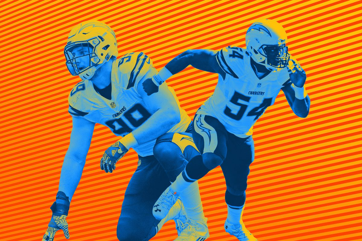 buy popular d5d18 b2d84 Joey Bosa, Melvin Ingram, and the Chargers' Suddenly Awesome ...